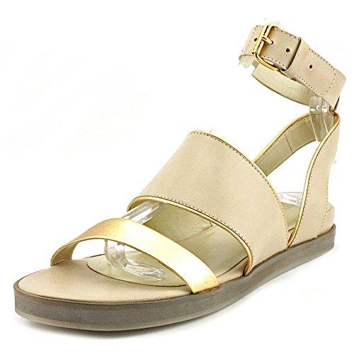 US M Victoire Cream Sandals 7 Sabina La Flat Ankle Pour gold Strap fq7Pnpwv