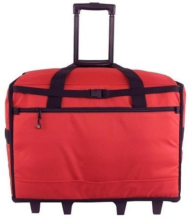 Bluefig TB23 Wheeled Travel Bag Combo (Red) by Bluefig