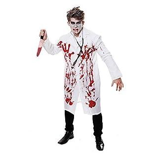 Costume Fancy Dress Bloody Doctor (Bianco) Henbrandt