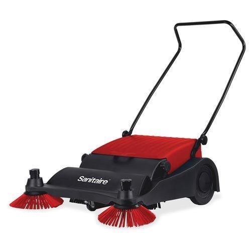 SC435 Sanitaire 32'' Wide Area Vacuum Sweeper - Red, Black by Sanitaire