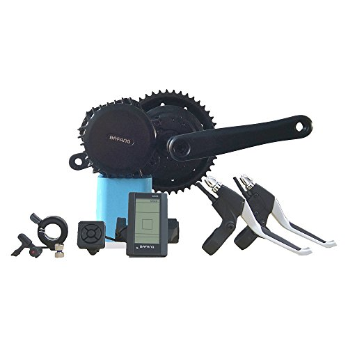 Bafang E-Bike Motor Electric Bike Mid Conversion Kit 48V 1000W With 120mm BB Electric Mid Drive Bike Kit