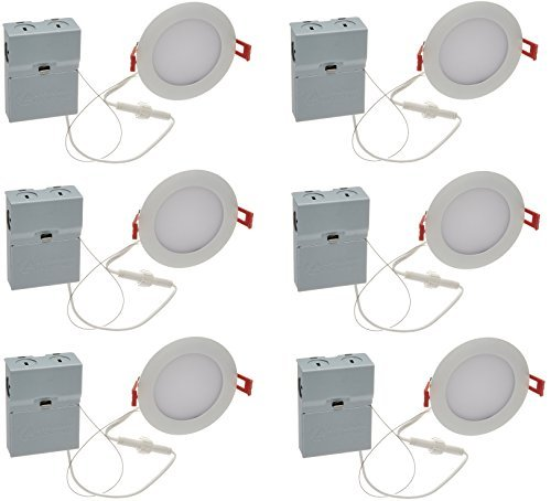 Lithonia Lighting (Pack of 6) 9.6W Ultra Thin 4