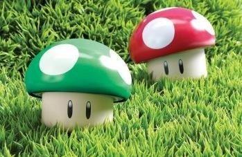 Super Mario Bros. Mushroom Tin Sour Candies Set of 2 (Super Mario Bros Mushroom)