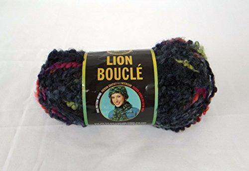 Boucle Yarn - Licorice - Nylon Yarn Boucle