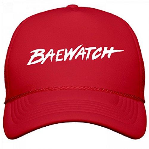 Customized Girl Fun In The Sun Bae Watch: Otto Solid Snapback Trucker Hat