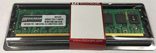 1GB DATARAM DDR2 PC2-5300 240 PIN DIMM FOR Sony VAIO VGX-XL3 Digital Living System (Digital Vaio System Living)
