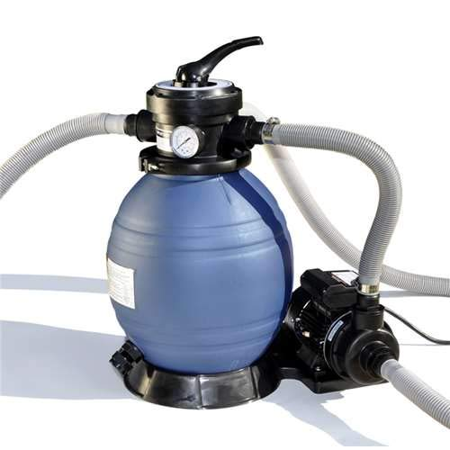 Sand Master Soft Sided Above Ground Pool Sand Filter System