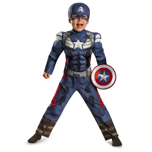 Disguise Captain America Soldier Toddler