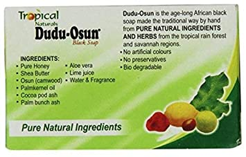 36 Bars x ORIGINAL Dudu Osun African Black Soap Authentic Herbal Natural Nigeria WHOLESALE