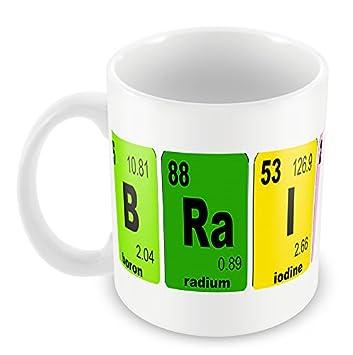 B ra i ni ac unique periodic table of elements mug name brainiac tea b ra i ni ac unique periodic table of elements mug name brainiac tea coffee mug urtaz Image collections