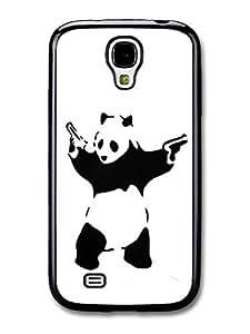 Banksy Panda Case fits Samsung Galaxy S4 Street Art Graffiti (407S)
