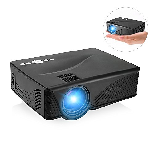 GBTIGER 2000 Lumens Full HD 1080P Mini Projector LED Home Projector Support...