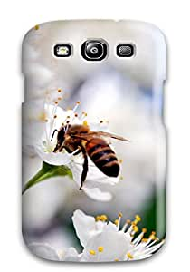 Hot Awesome Case Cover Compatible With Galaxy S3 - Bee Gathering Pollen 2111238K12398179