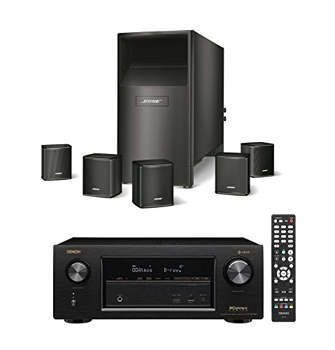 Bose-Acoustimass-6-Series-V-Wired-Home-Theater-Speaker-System-Black-with-Denon-AVR-X1400H-72-Channel-AV-Receiver-with-Built-in-HEOS-Technology