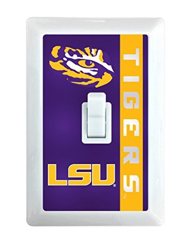 LSU Tigers LED Light switch by R and R Imports (Image #1)