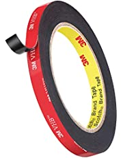 3M Double Sided Tape, Heavy Duty Tape Mounting Tape Waterproof VHB Mounting Tape Easy to Apply for Outdoor, Home, Office, Wall Accessories