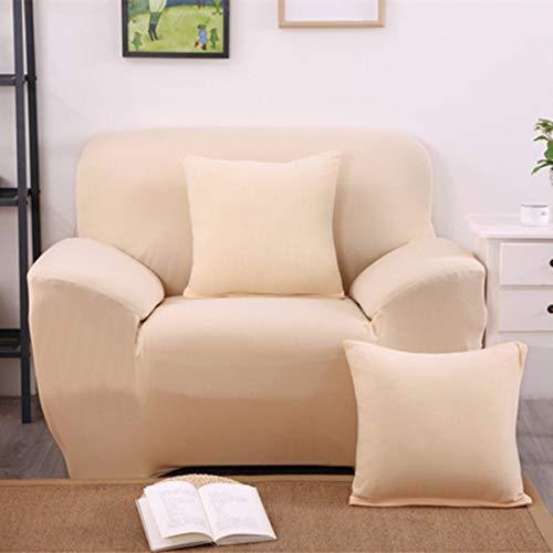Sand Sofa Slipcover SAFETYON Elastic Sofa Cover Sets L Shape