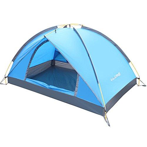 まだ研究抑圧するMUTANG ダブルテントアウトドア2超軽量防水キャンプファミリー恋人カジュアルビーチ観光クラシックシングルテントテントはすぐにアウトソーシングを構築する