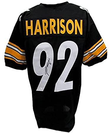 Image Unavailable. Image not available for. Color  James Harrison Steelers  Signed Black Jersey ... e76a36ef3