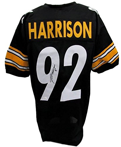 James Harrison Steelers Signed Black Jersey JSA 129958 at Amazon s Sports  Collectibles Store 7b714647f723