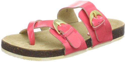 Sandalias Koralle cuero Lack mujer de Pink 39 para Rosa flach JACOBSEN Sandalen CHEERFUL71 ILSE 39 axB0n7Xw5q