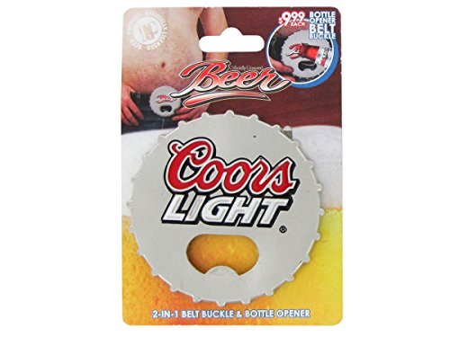 bulk buys Coors Belt - Belt Beer Buckle Bottle Opener