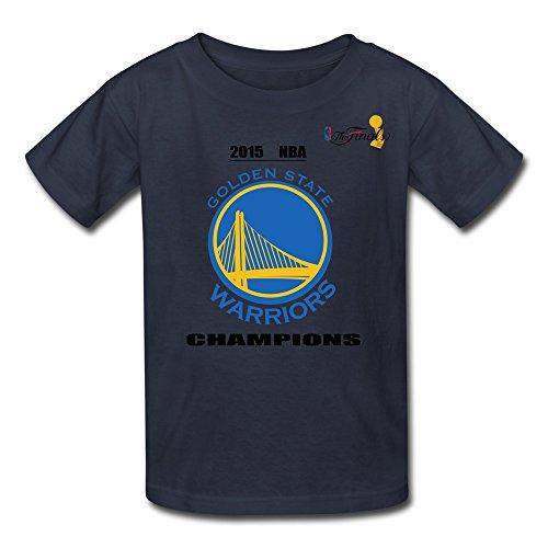 CXY Youth Golden State Warriors 2015 NBA Finals Champions Kids Boys T-Shirt - M