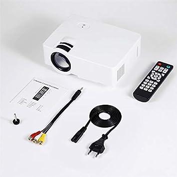 E08S - Mini proyector portátil con 200 lúmenes y 800 x 480 Full HD ...