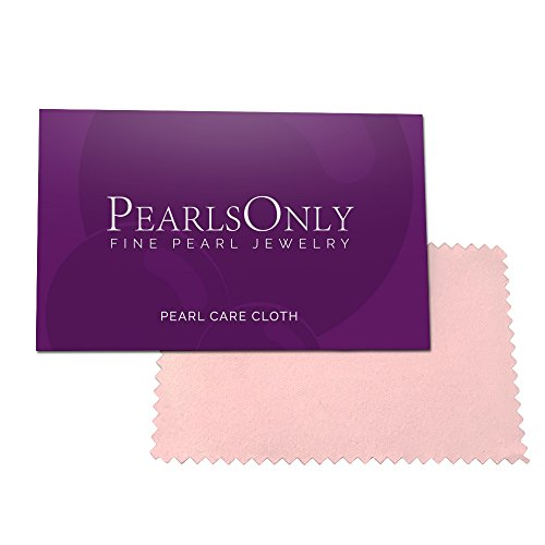 Larina White 8-9mm AAAA Quality Freshwater 925 Sterling Silver Cultured Pearl Pendant For Women by PearlsOnly (Image #7)
