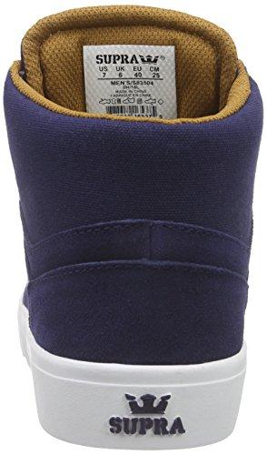 Supra Yorek Hi Men Us 12 Blauwe Sneakers