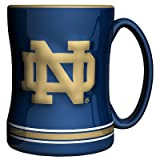 For the truly devoted fan, we are proud to present this officially licensed Notre Dame coffee mug from Boelter Brands. Now you can brighten up your office or home with your favorite collegiate team's colors and logo while you enjoy your favor...