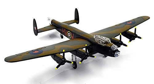 FLOZ British Avro Lancaster MK III Heavy Bomber 1:144 die cast Aircraft plane Model Pre-assembled Ariplane Vehicle - Pre Model Built