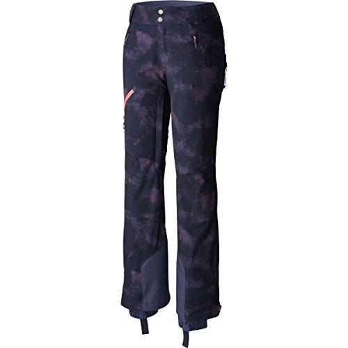 Columbia Zip Down Womens Ski Pants - Small/Nocturnal Haze Print (Woman Ski Pants Slim)