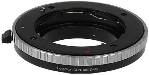X-E1 Mirrorless Fotodiox-Adattatore obiettivo Contax G per fotocamera Fujifilm professionale X per Fujifilm X-Pro1