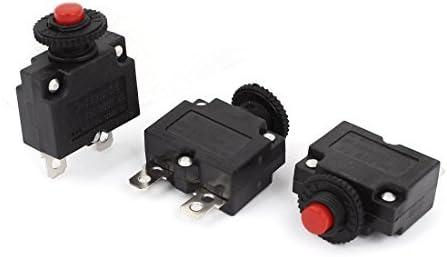 Circuit Breaker 3 PC AC 125V / 250V 15A pulsador para compresor de aire