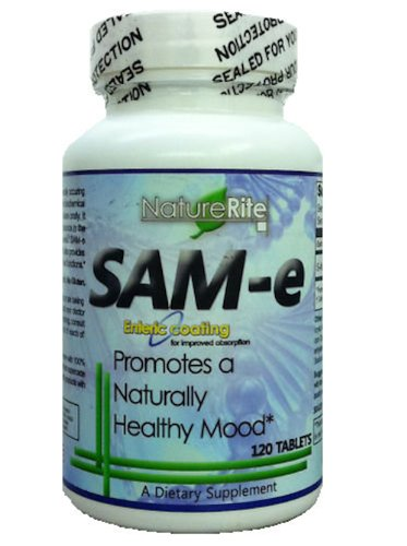 Sam-e Full Potency 200mg 120 Count Tablets Enteric Coated Ct