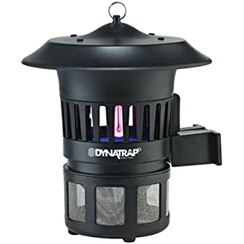 Dynatrap Insect Trap - 1/2 Acre Optional Wall Mount - Black