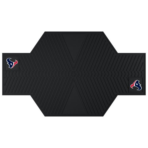 FANMATS 15319 NFL Houston Texans Motorcycle Mat by Fanmats