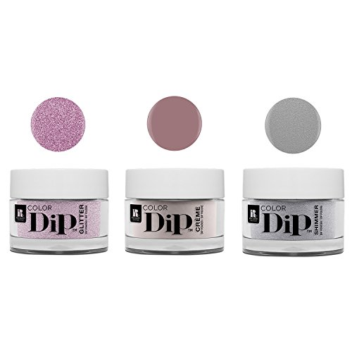 - Red Carpet Manicure Color Dip Nail Dip Powder Set, 3-Pack