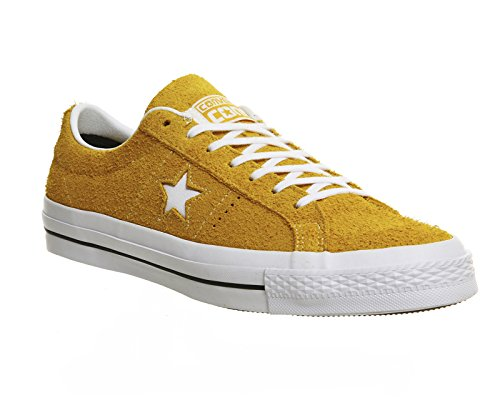 Converse Unisex Adulto Sneakers Una Stella C153064 In Basso Giallo Superiore