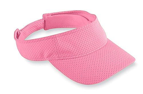 Augusta Sportswear Kids' Athletic Mesh Visor OS Pink