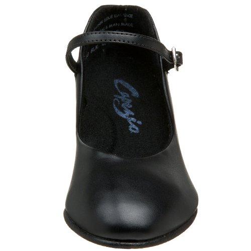 Capezio Women's Character Shoe,Black,5
