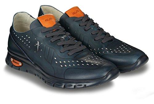 Cesare Paciotti 4US RRWU2FSDE Sneakers Pelle Blu delavé