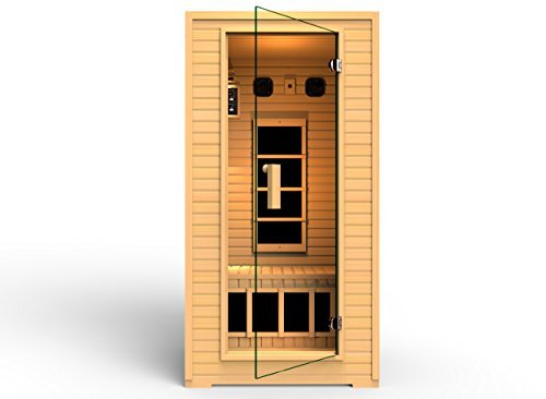 2014 JNH Lifestyles 1-2 Person Far Infrared Sauna 4 Carbo...