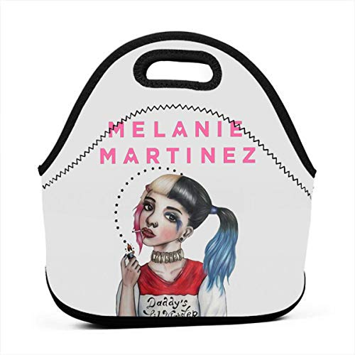 Melanie Martinez Logo Lunch Tote Bag Retro Rhombus Designed,Thermal Or Refrigerated Lunch Tote Bag,Suitable For Office,Travel,Picnic