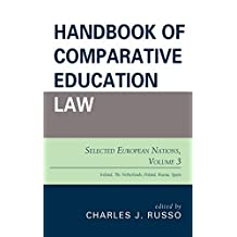 Handbook of Comparative Education Law: Selected European Nations