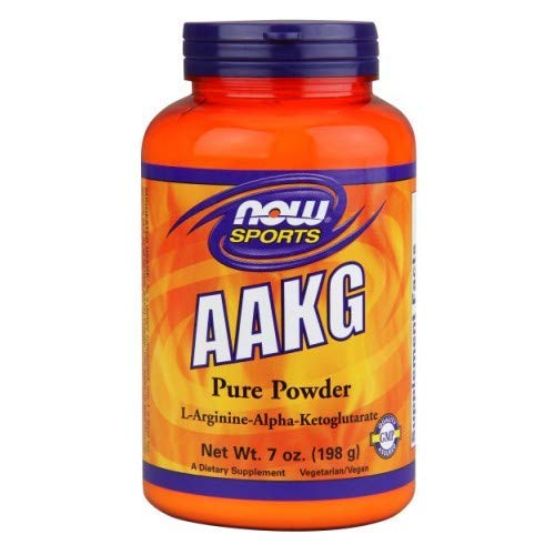 AAKG, PURE POWDER, 7 OZ by Now Foods (Pack of 6) (Now Foods Aakg)