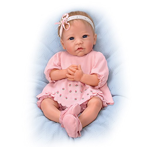 Linda Murray 18 Inch Realistic Silicone Baby Girl Doll fr...
