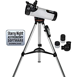 Celestron 114LCM Computerized Telescope (Black)