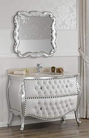 Meuble Salle De Bain Avec Miroir Style Baroque Moderne